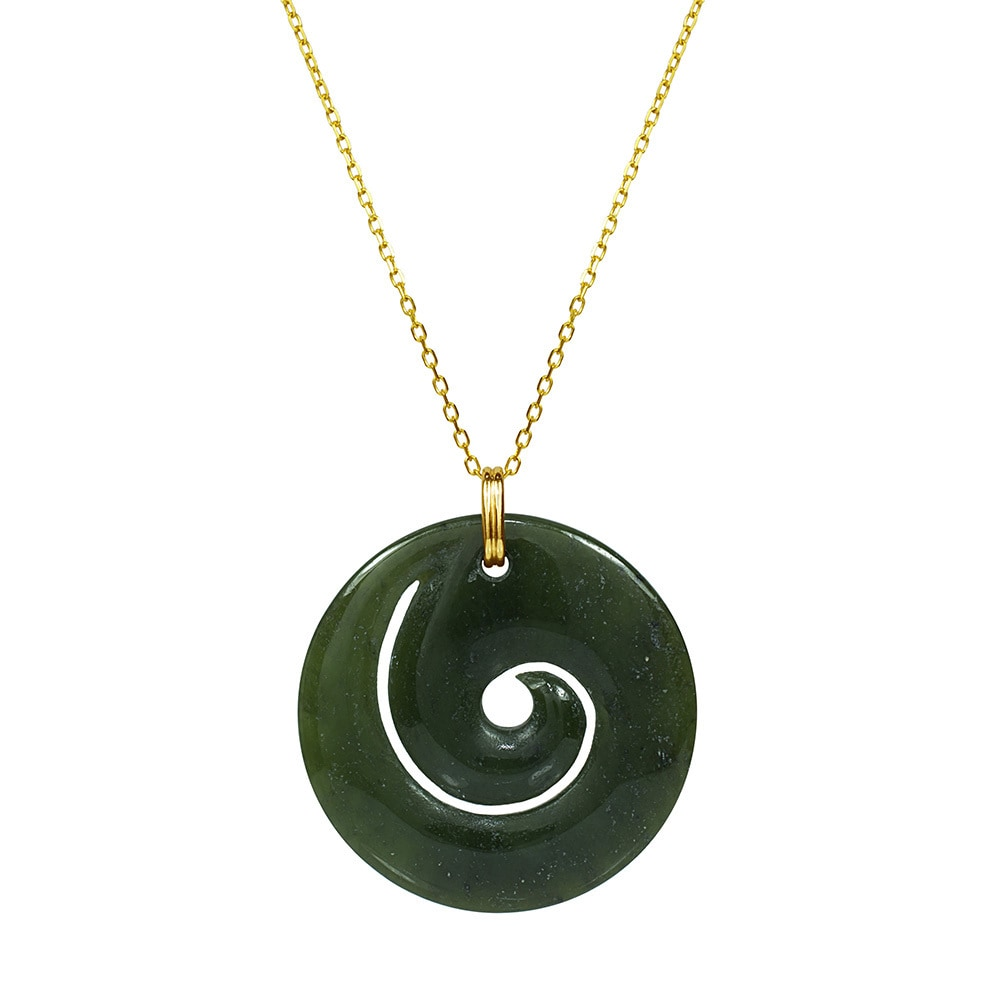 green magnetic rare ct in with rhodium size carved necklaces sterling clasp necklace extremely silver jade plated