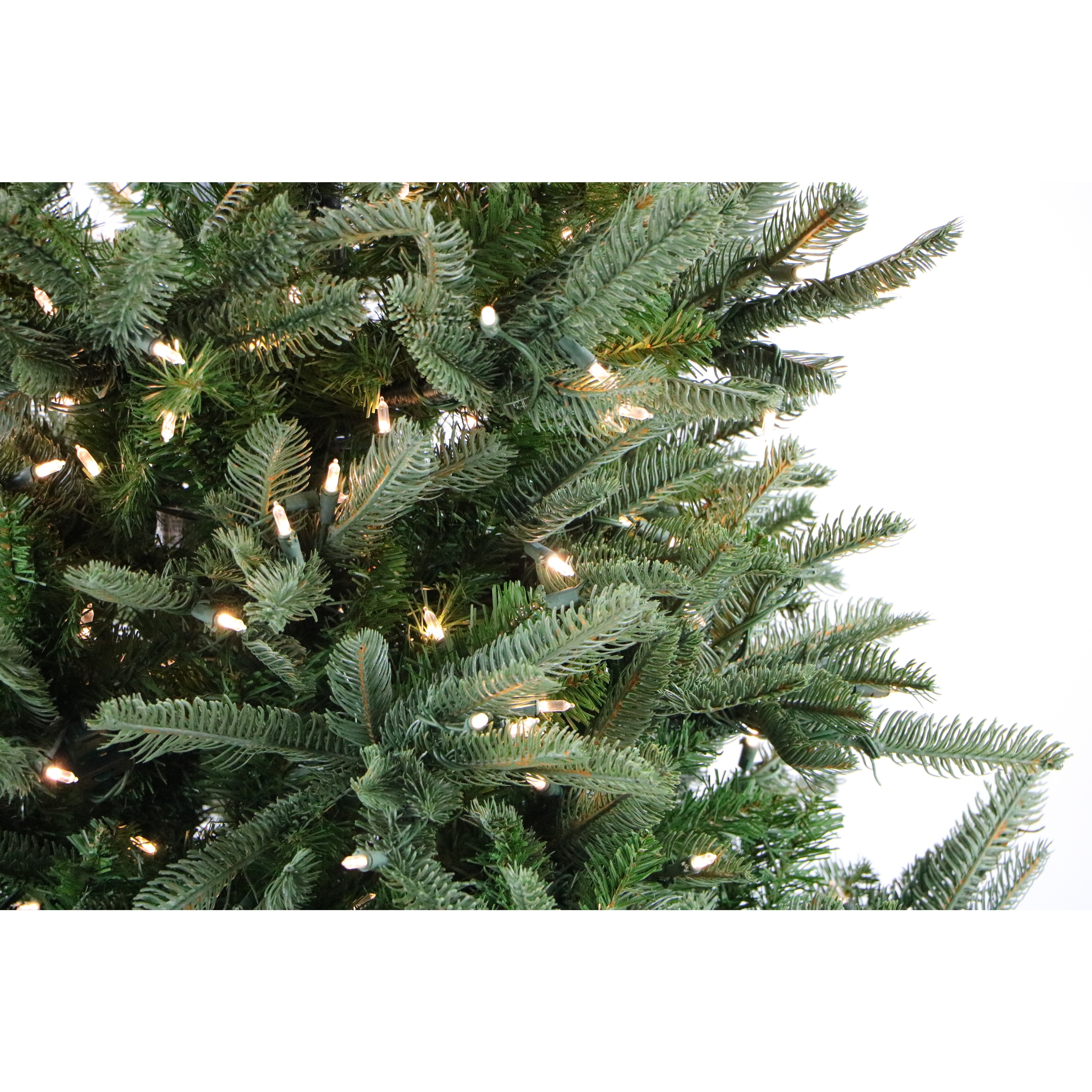Shop Fraser Hill Farm 7.5-foot Noble Fir Christmas Tree with Smart ...