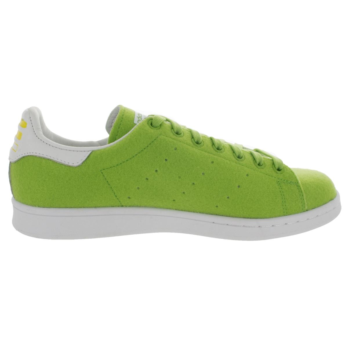 20c4a3259381 Shop Adidas Men s Pw Stan Smith Tns Originals Green Green White Casual Shoe  - Free Shipping Today - Overstock.com - 12319892