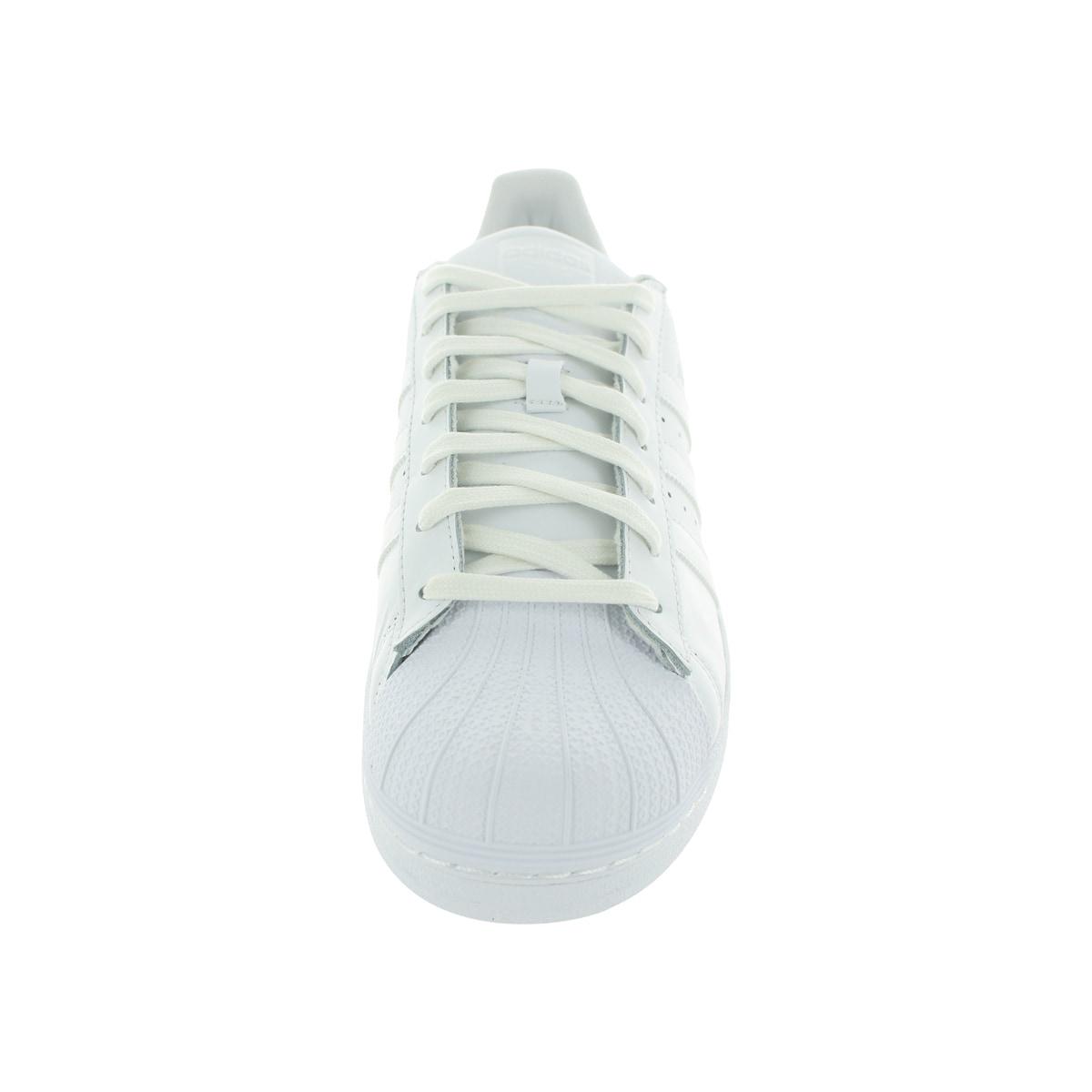 Adidas superstar fondazione uomini bianchi / white / bianco originali.