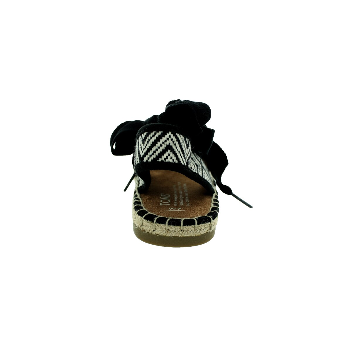 ed8f8a20d Shop Toms Women's Bella Espadrille Black Woven Sandal - Free Shipping Today  - Overstock - 12320330