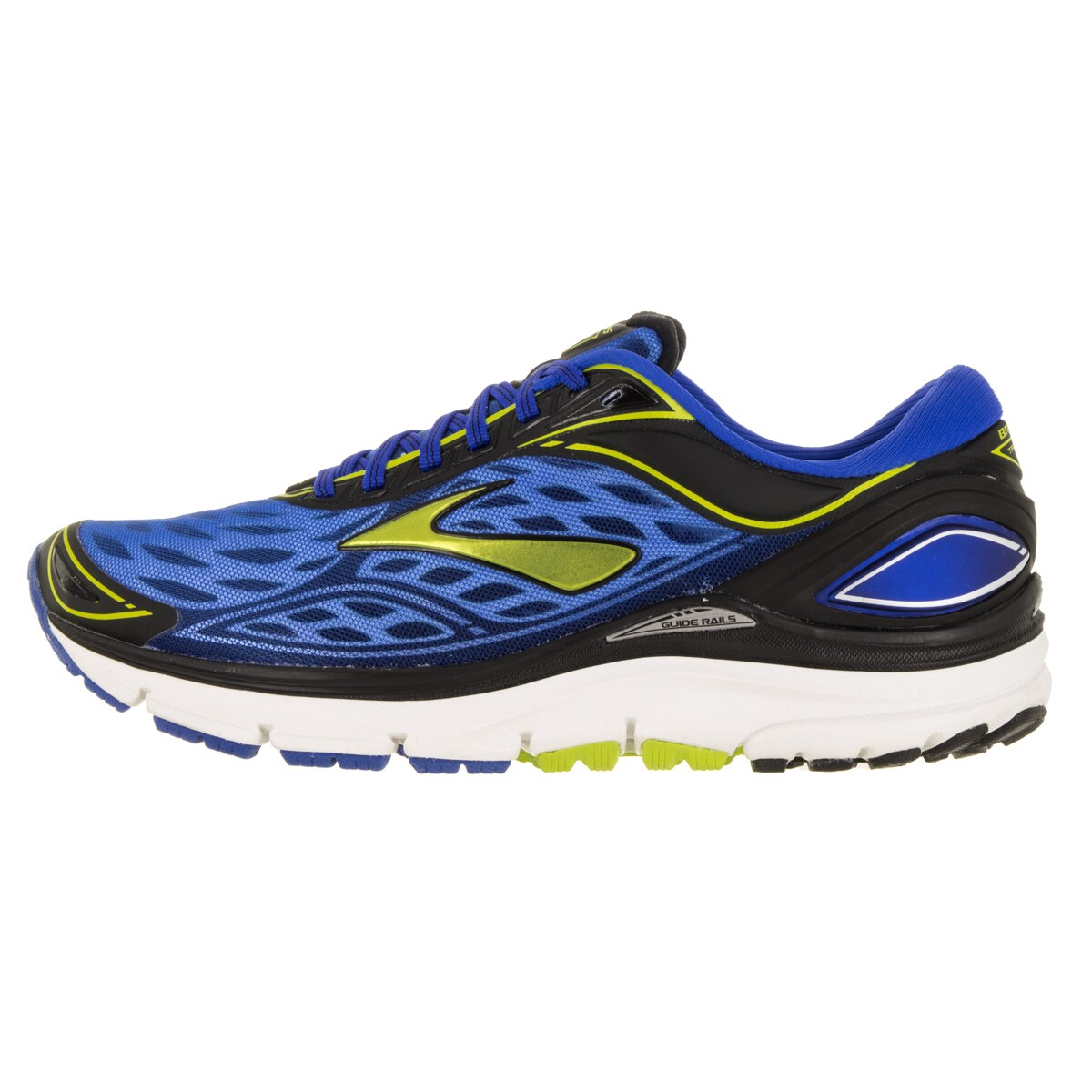 775b86addbf Shop Brooks Men s Transcend 3 ElectricbrooksBlue Limepunch B Running Shoe -  Free Shipping Today - Overstock - 12321070