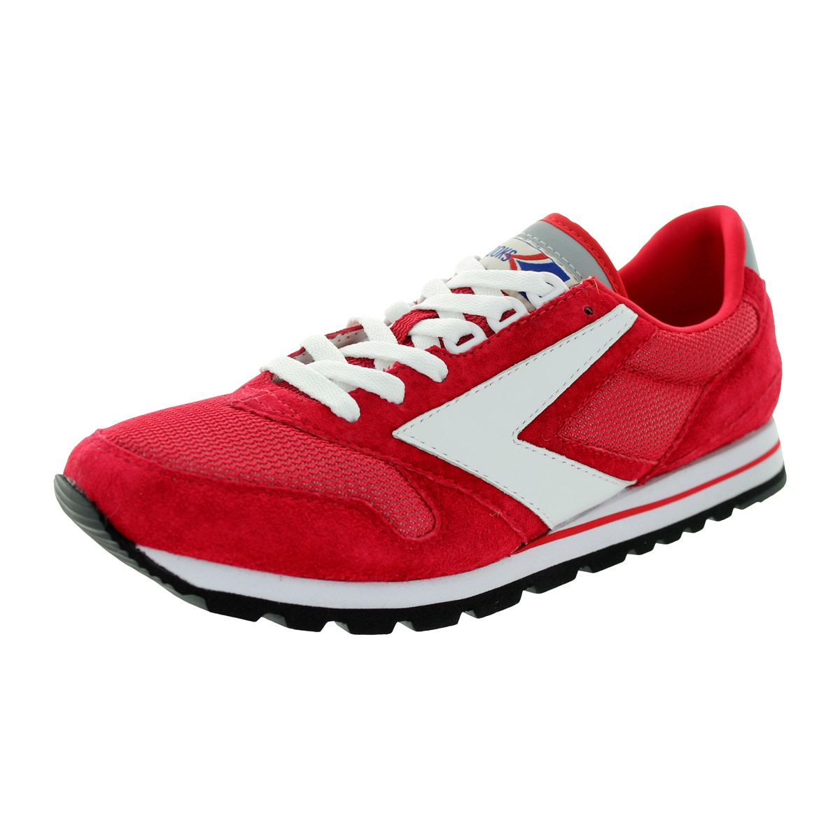 3c67bceea90be Shop Brooks Men s Chariot True Red White Running Shoe - Free Shipping Today  - Overstock - 12321097