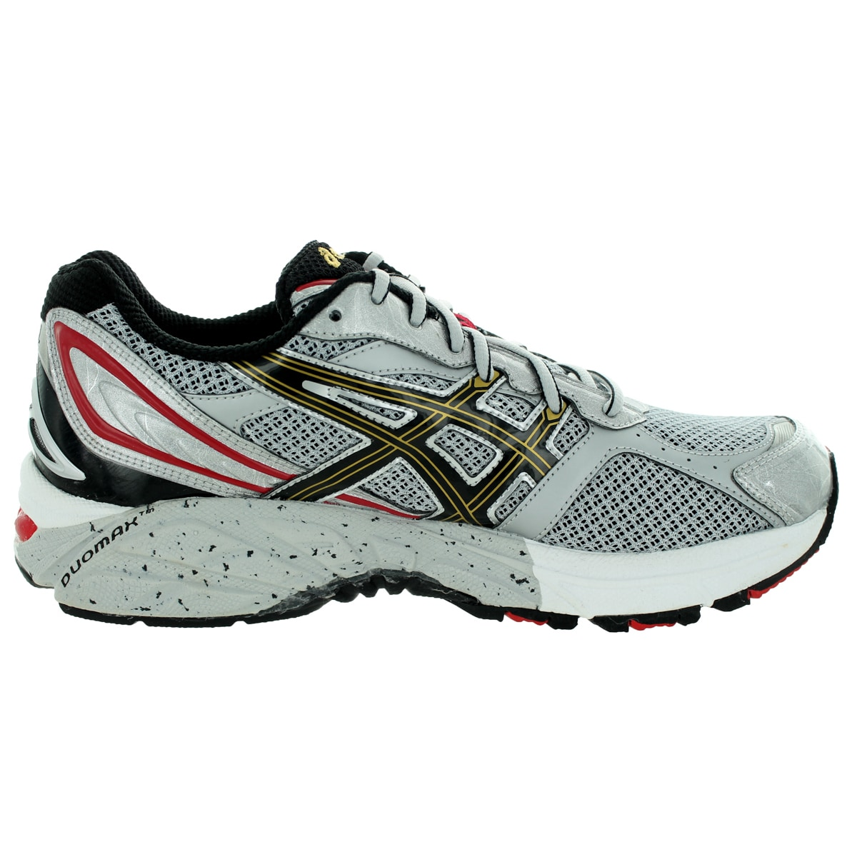 0a5472ed3aa84 Shop Asics Men's Gel-Foundation 8 (2E) Lightning/Black/True Red Running  Shoe - Free Shipping Today - Overstock - 12321148