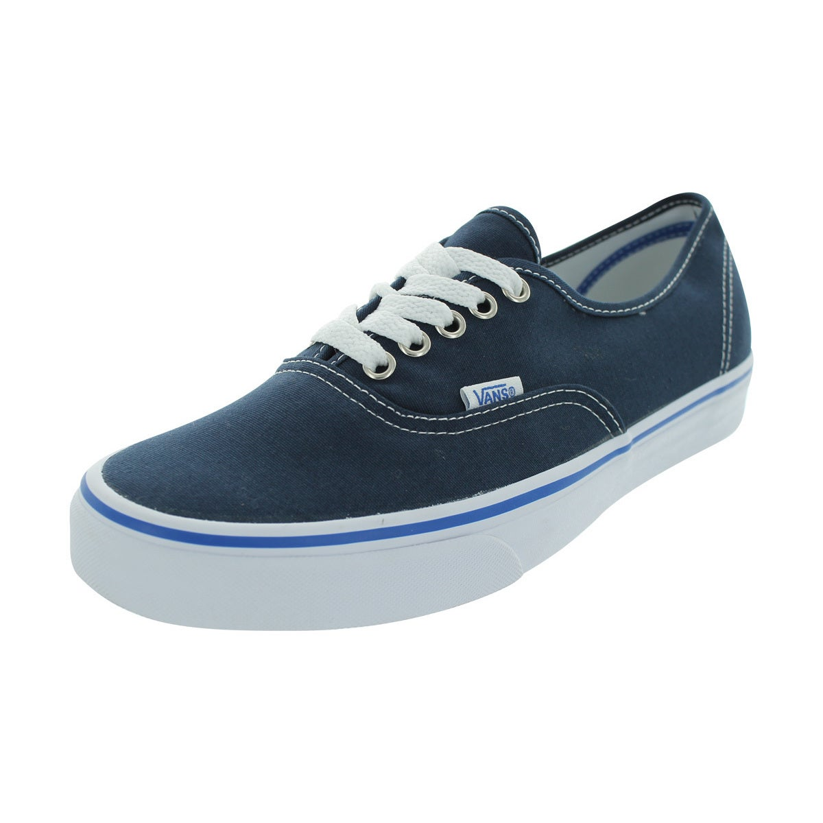 1d655aba479a30 Shop Vans Authentic Skate Shoes (Dress Blues Nautical Blue) - Free ...
