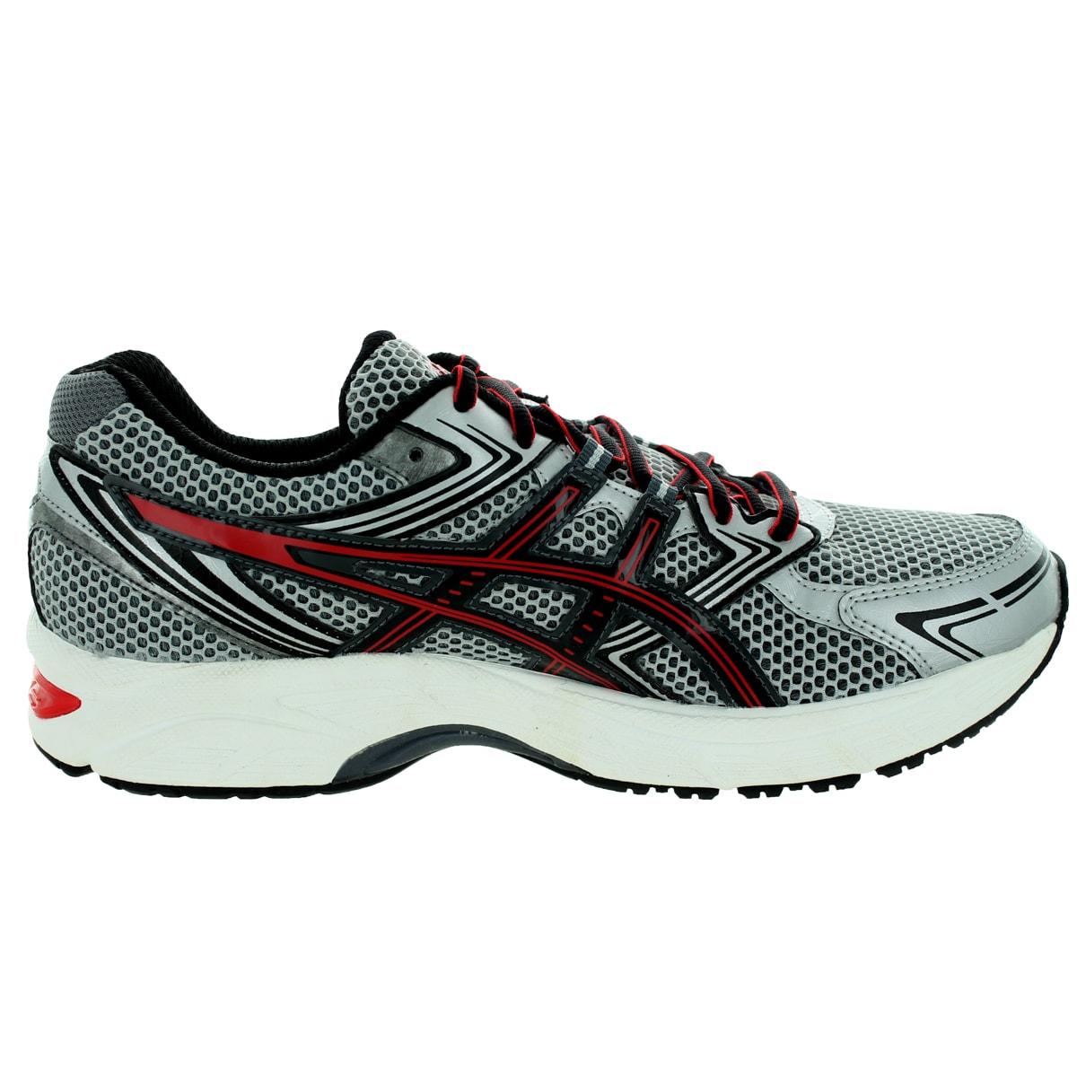 Asics Running Shoes Red Gel Equation 7 Lightning Onyx Mens