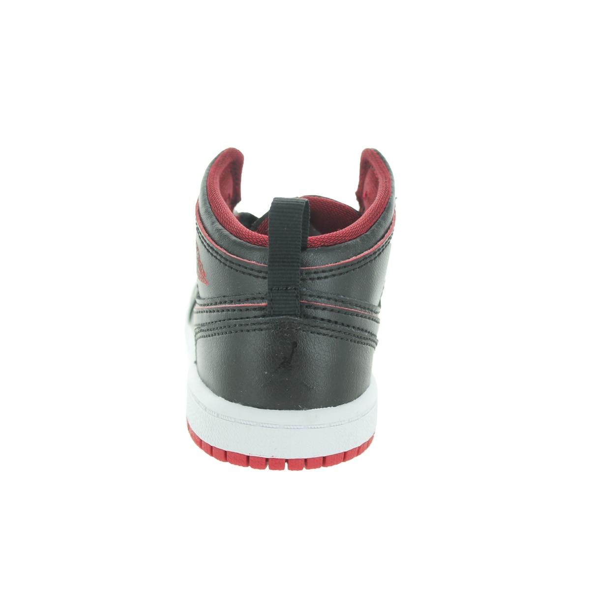 73cec2344c2c1 Jordan Toddler Black/Black/White/Gym Red Basketball Shoes