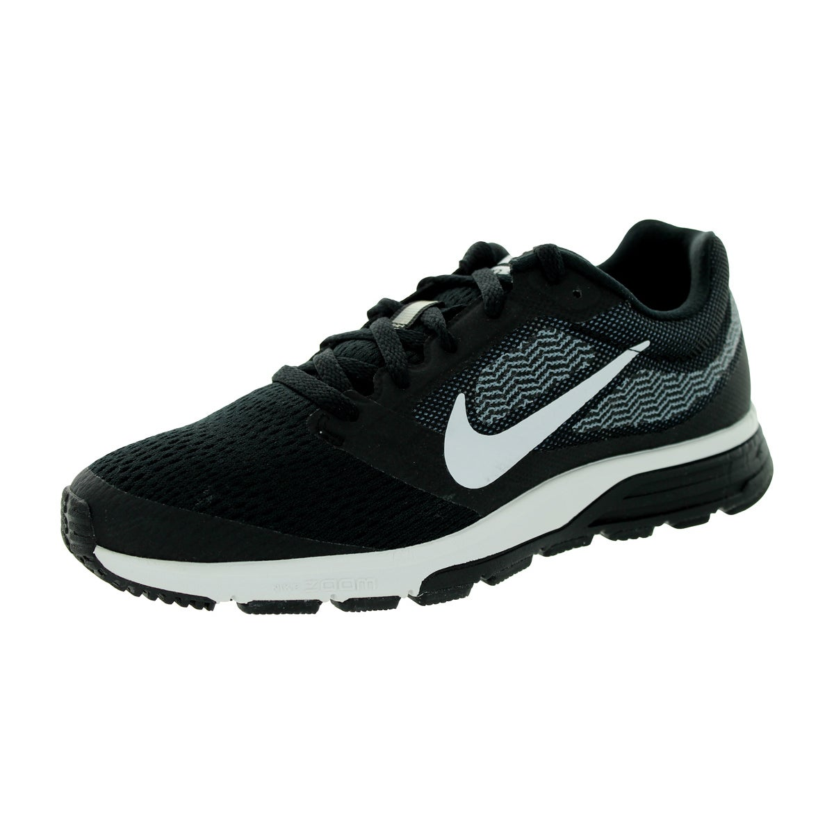7a5bc91f89e Shop Nike Women s Air Zoom Fly 2 Black White Cool Blue Running Shoe - Free  Shipping Today - Overstock.com - 12321728