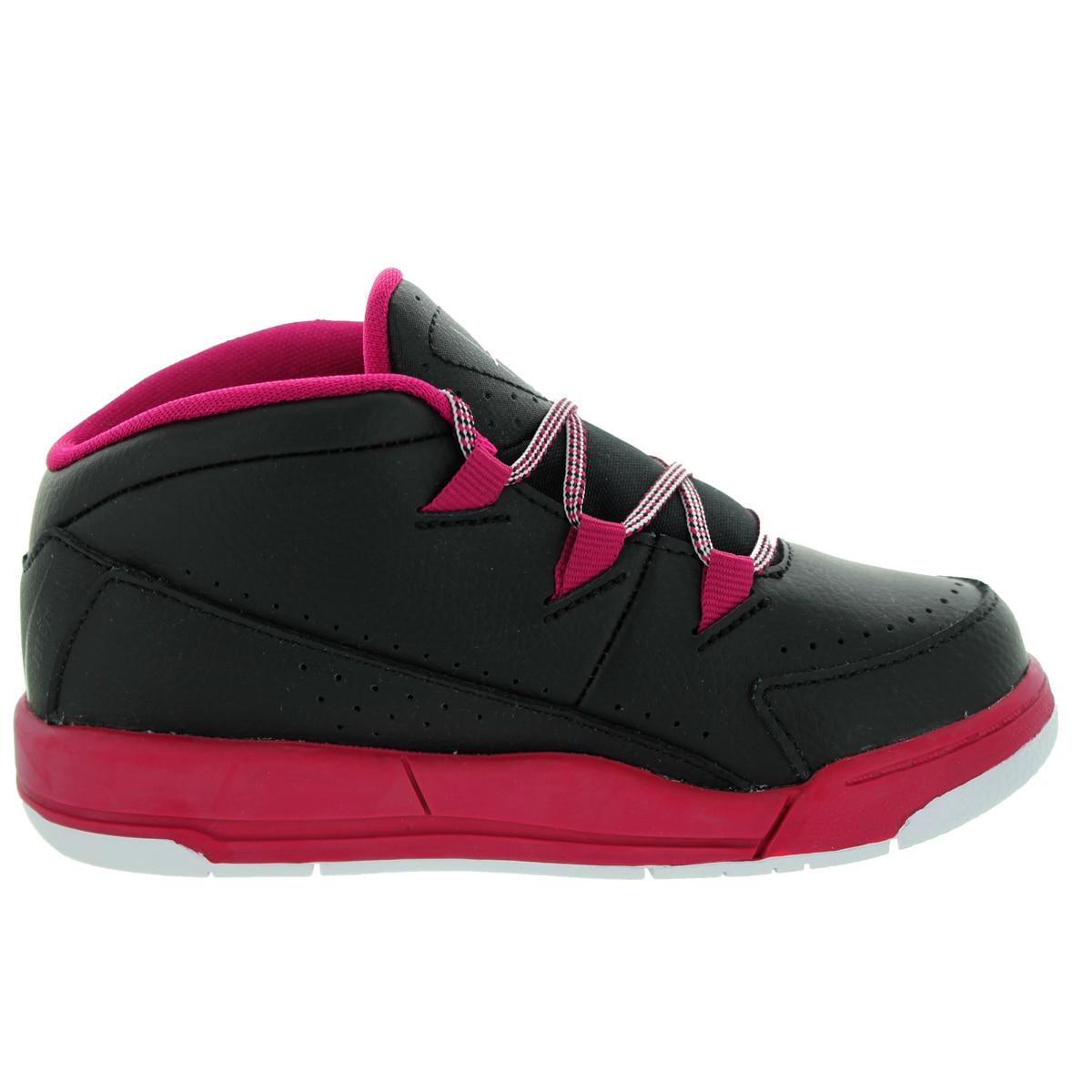 79390ac3ca12 Shop Nike Jordan Toddlers  Jordan Deluxe Gt Black White Sport Fuchsia Basketball  Shoe - Free Shipping Today - Overstock - 12321731