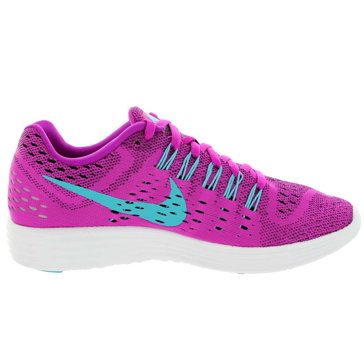 1dec1b514b86 Shop Nike Women s Lunartempo Fuchsia Flash Clrwtr Black Why Running Shoe -  Free Shipping Today - Overstock.com - 12321739