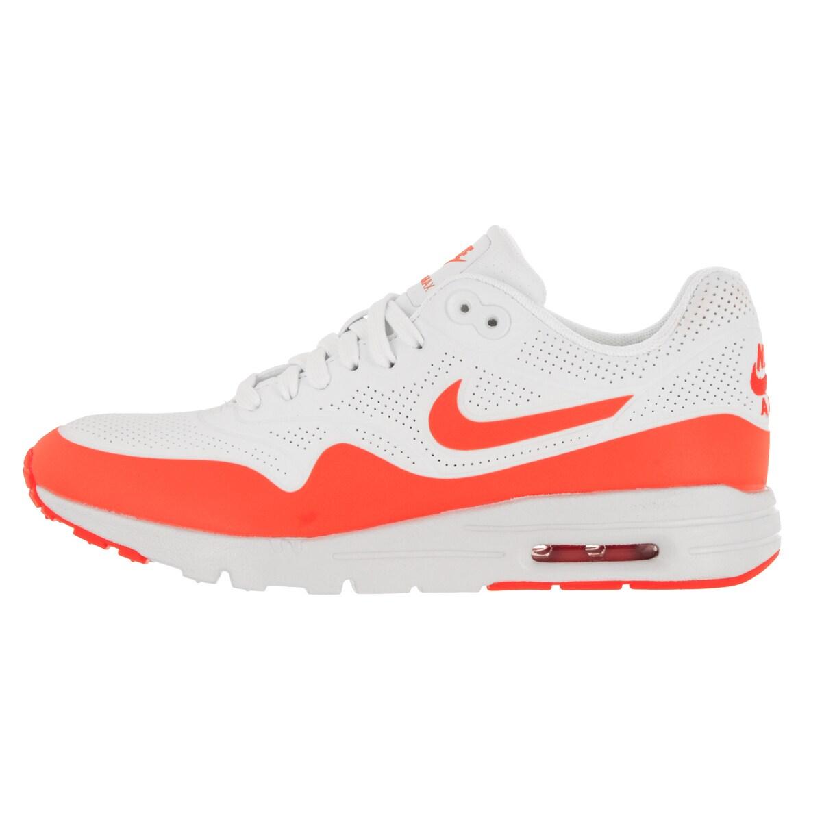 7e914fea0813d Nike Women s Air Max 1 Ultra Moire Summit White Total Crimson Running Shoe
