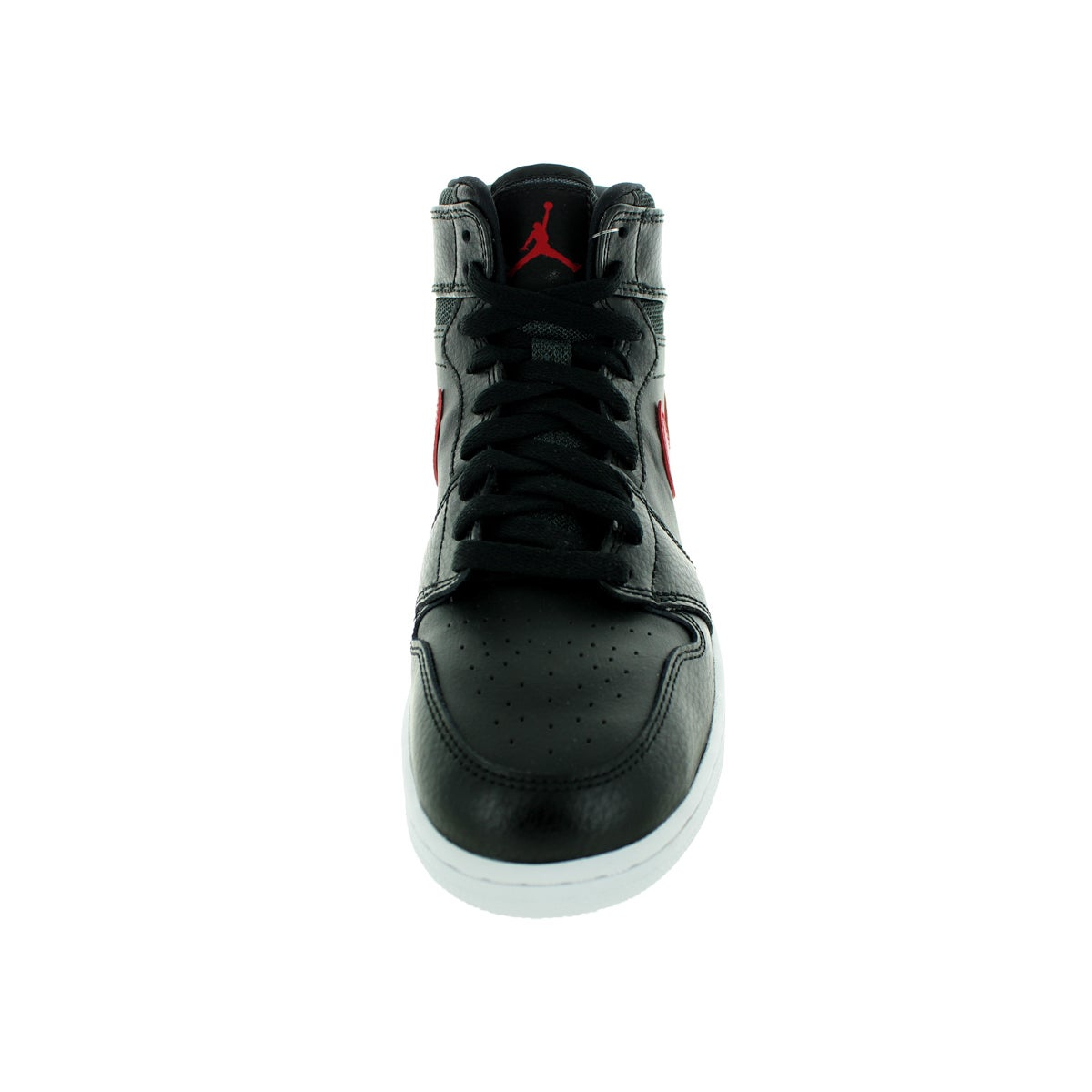 new concept 21bf7 de330 Shop Nike Jordan Kid s Air Jordan 1 Retro High Bg Black Gym Red Black White  Basketball Shoe - Free Shipping Today - Overstock - 12322188