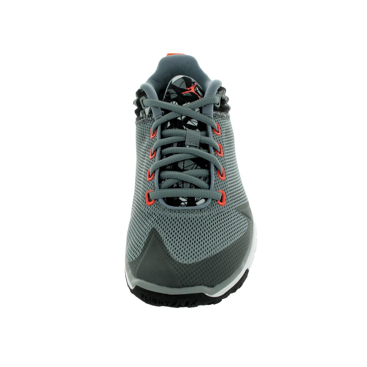 a34fe10120a74 Nike Jordan Kid's Jordan Flight Flex Trainer Bg Cool Grey/Tm Orange/White  Training Shoe