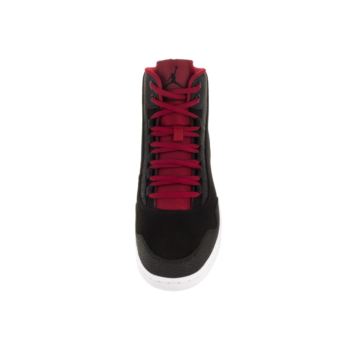 more photos 00fc8 57332 Shop Nike Jordan Kid s Jordan Executive Bg Black Gym Red Gym Red White Basketball  Shoe - Free Shipping Today - Overstock - 12322356