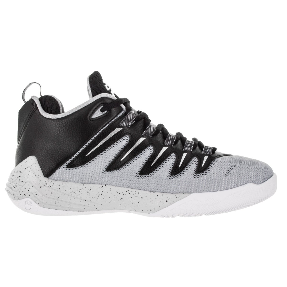 c03f4e82a7b3bb Shop Nike Jordan Kid s Jordan Cp3.Ix Black Metallic Silver Elf  Pr Plt Basketball  Shoe - Free Shipping Today - Overstock - 12322409