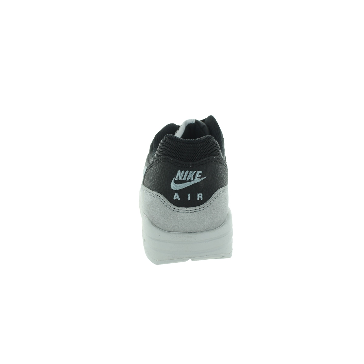 quality design 3494c 4e4a0 Shop Nike Women s Air Max 1 Essential Black Dove Grey Pure Platinum Running  Shoe - Free Shipping Today - Overstock - 12322548