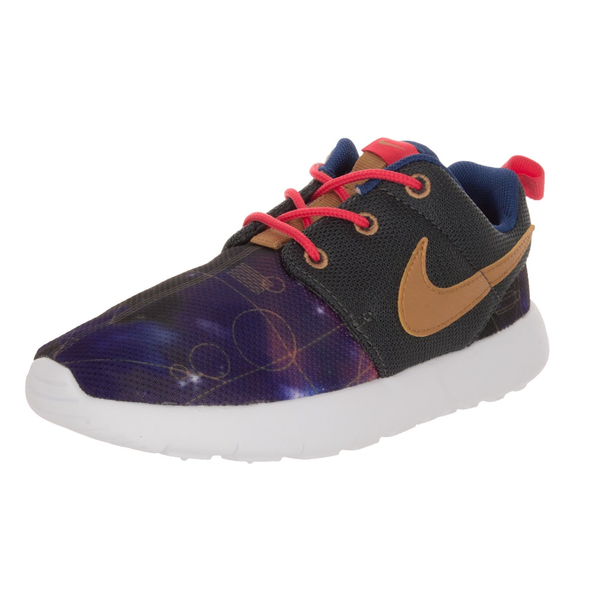 cc561fbbadc32 Shop Nike Kid s Roshe One Print (Ps) Hmtt Mlc Gld Lt Running Shoe - Free  Shipping On Orders Over  45 - Overstock - 12323010