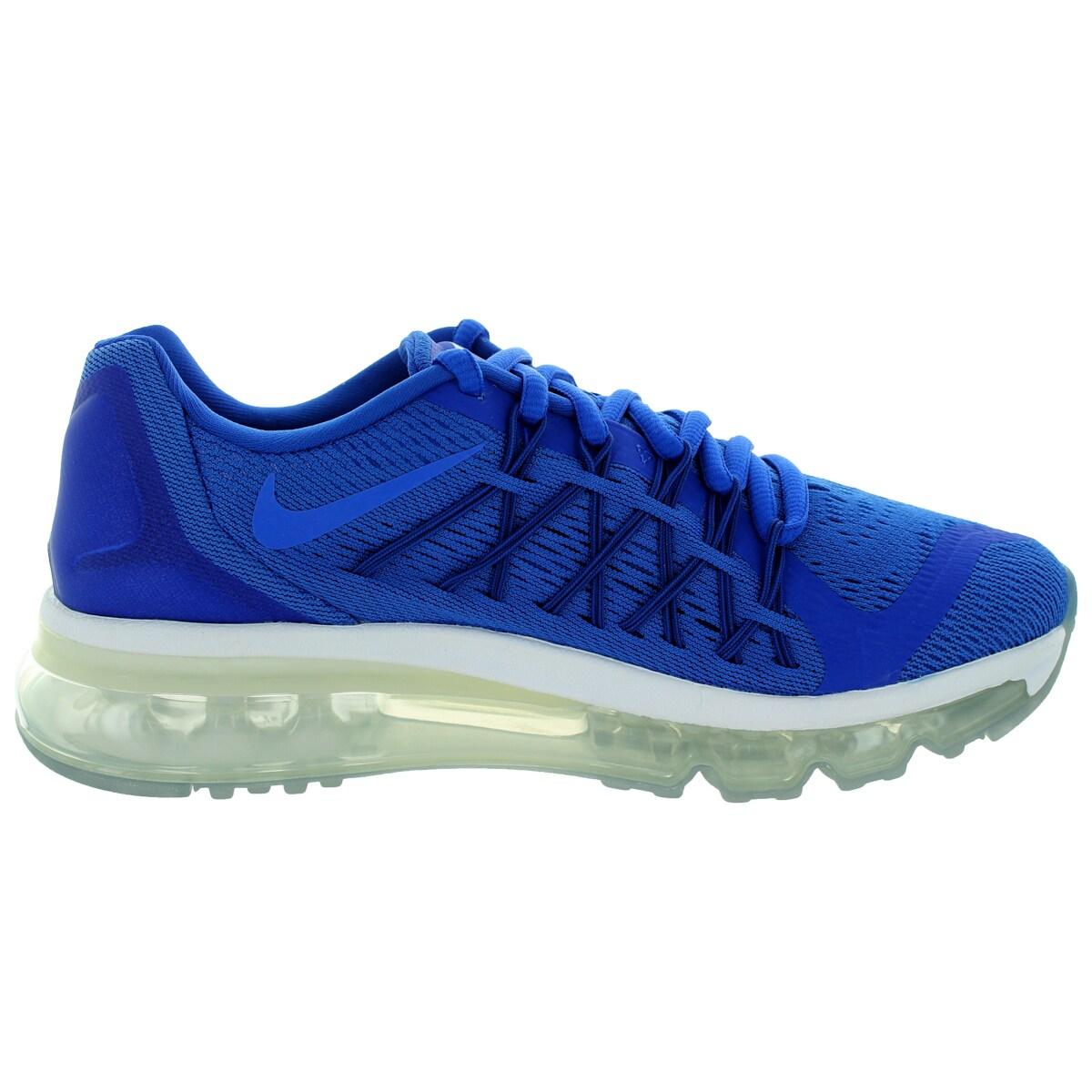 promo code 11151 92e03 ... cheap for discount 5b2bf fe968 Shop Nike Kids Air Max 2015 (Gs) Royal  BlueWhite