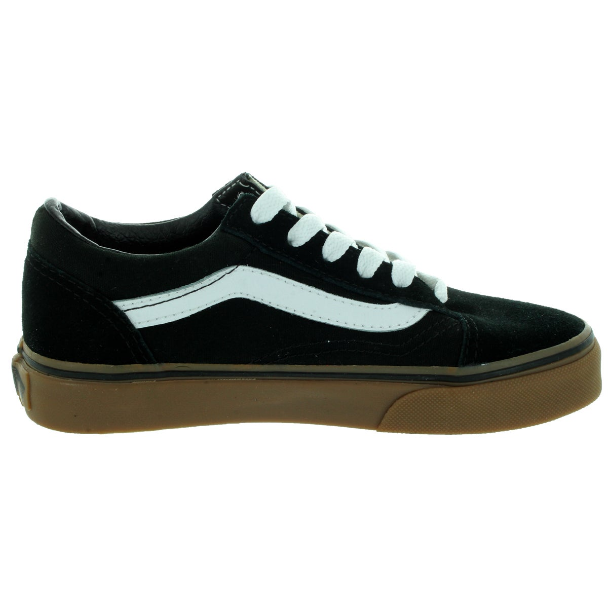 vans old skool shoes - (gumsole) black / medium gum