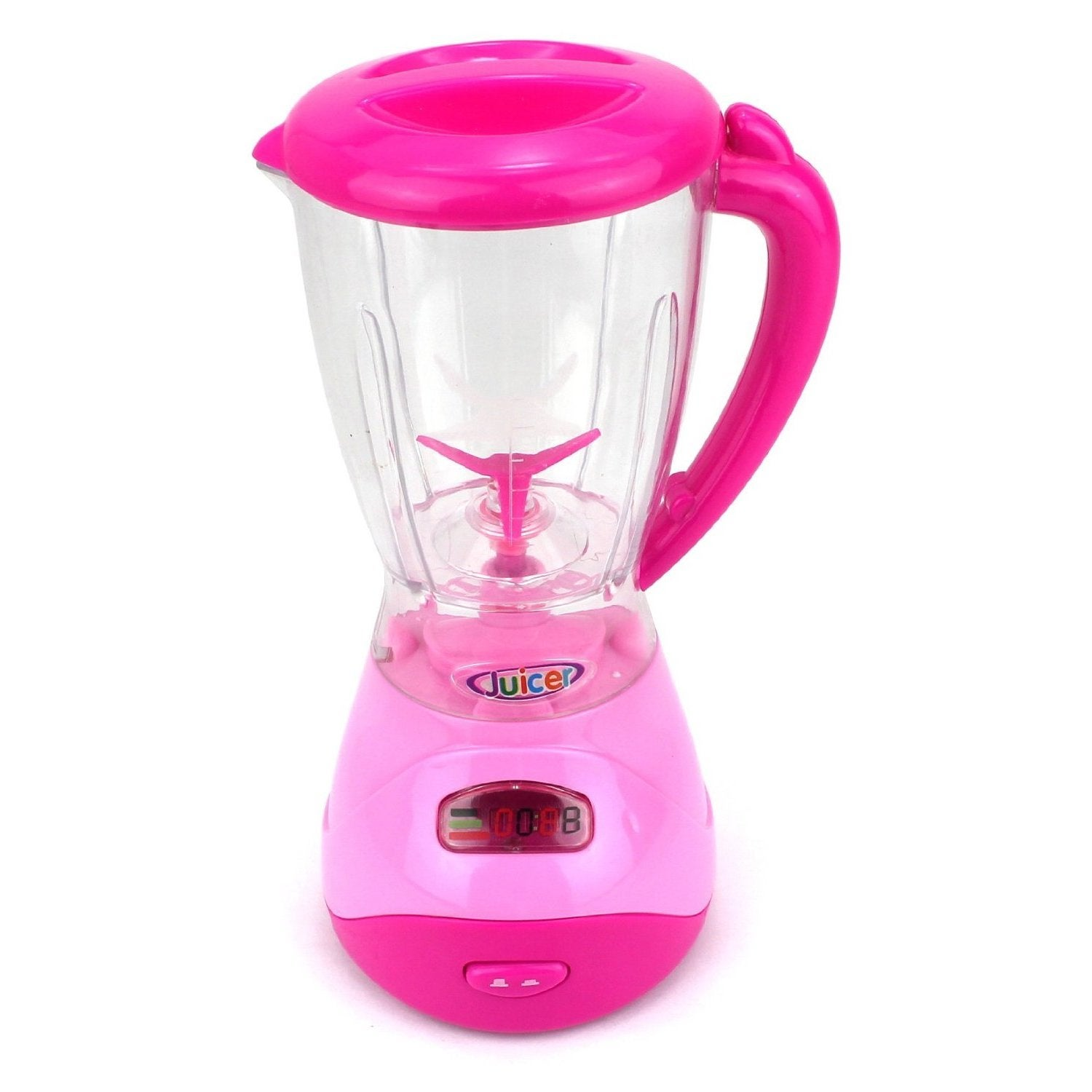 Velocity Toys Mini Dream Kitchen Pink Play Toy Kitchen Appliances ...