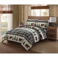 Remington Boucher Woods Printed Lodge Comforter Mini Set