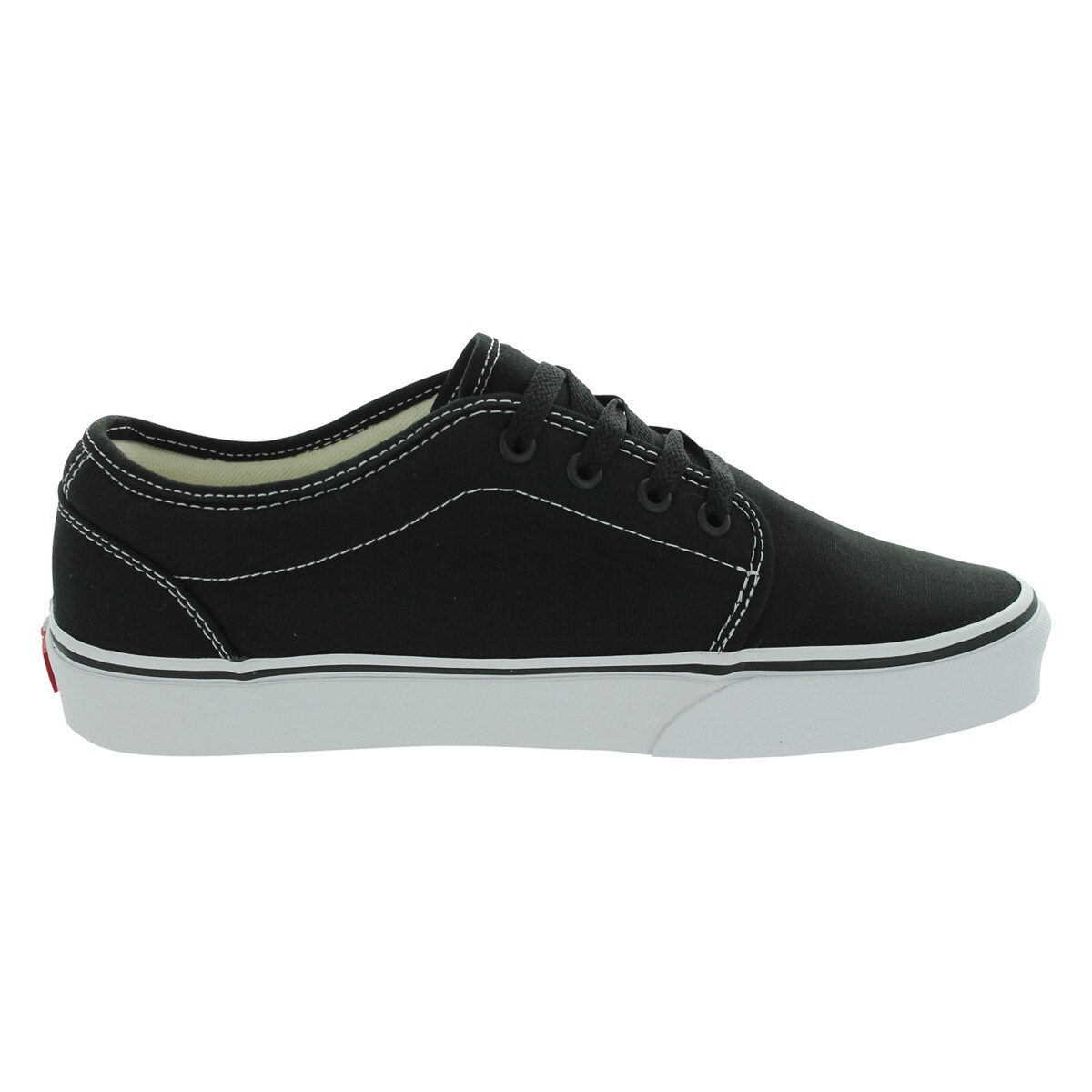 Shop Vans 106 Vulcanized Skate Shoes (Black White) - Free Shipping Today -  Overstock - 12328130 0845e34d1
