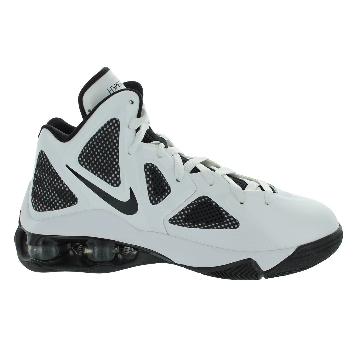 best sneakers 8c110 067da Shop Nike Shox Air Hyperballer Tb Basketball Shoes (White Black) - Free  Shipping Today - Overstock - 12328216
