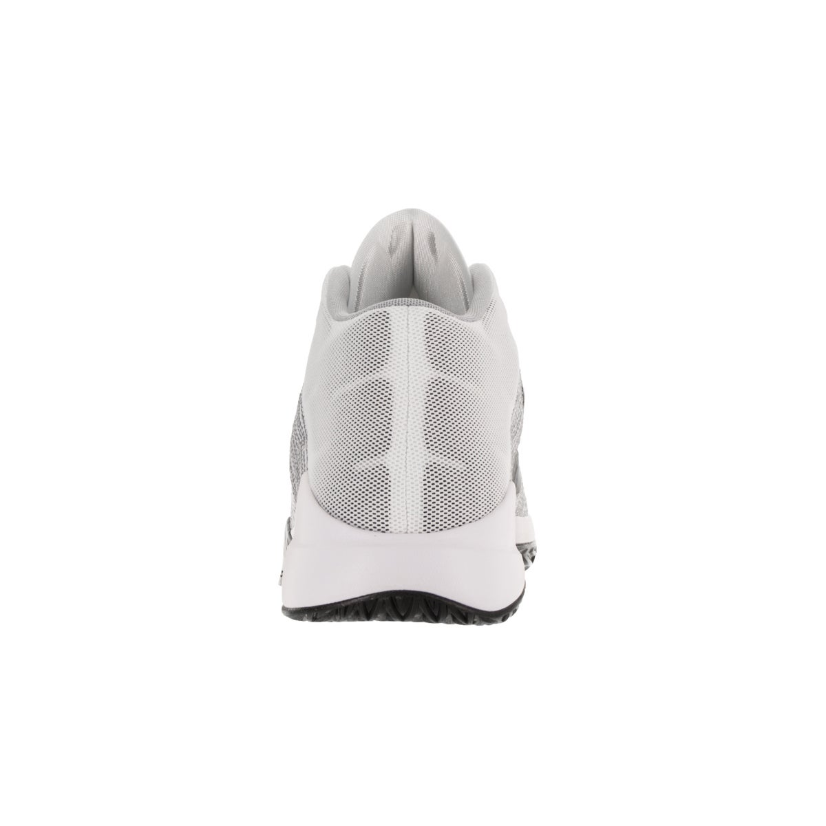 a894c67afa1e Shop Nike Men s Zoom Ascention White Black Wolf Grey Stealth Basketball Shoe  - Free Shipping Today - Overstock - 12328572