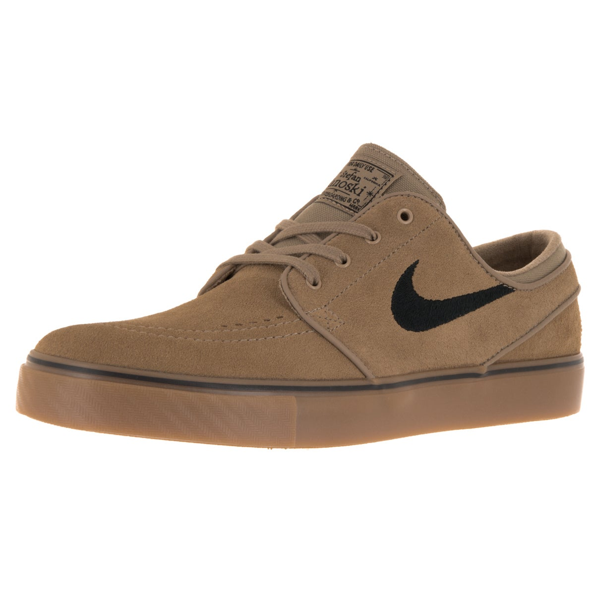 71a99e244dce Shop Nike Men s Zoom Stefan Janoski Khaki Black Gum Light Brown Skate Shoe  - Ships To Canada - Overstock - 12328610