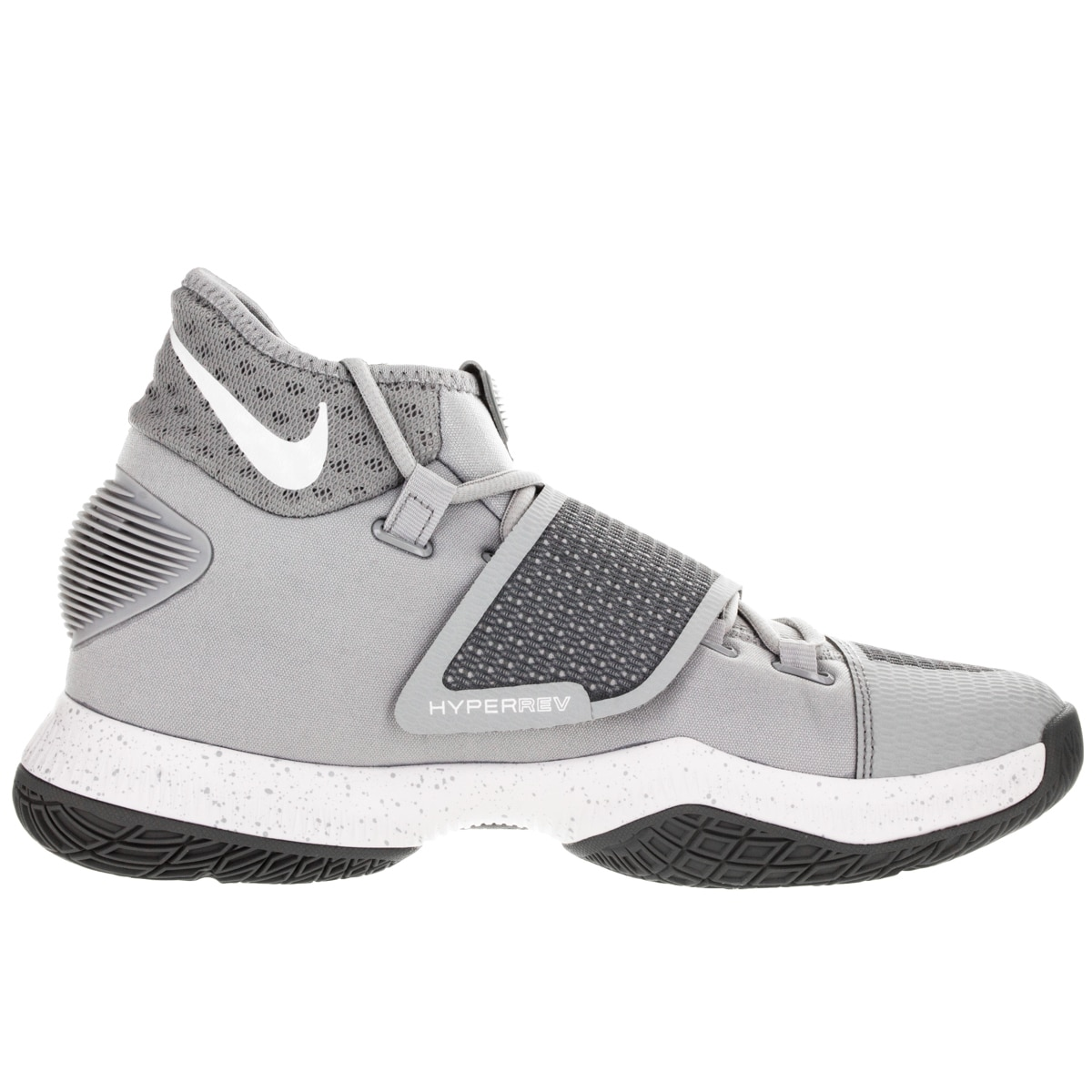 Nike Men's Zoom Hyperrev 2016 Wolf Grey/White/Cool Grey Basketball Shoe -  Free Shipping Today - Overstock.com - 19160546