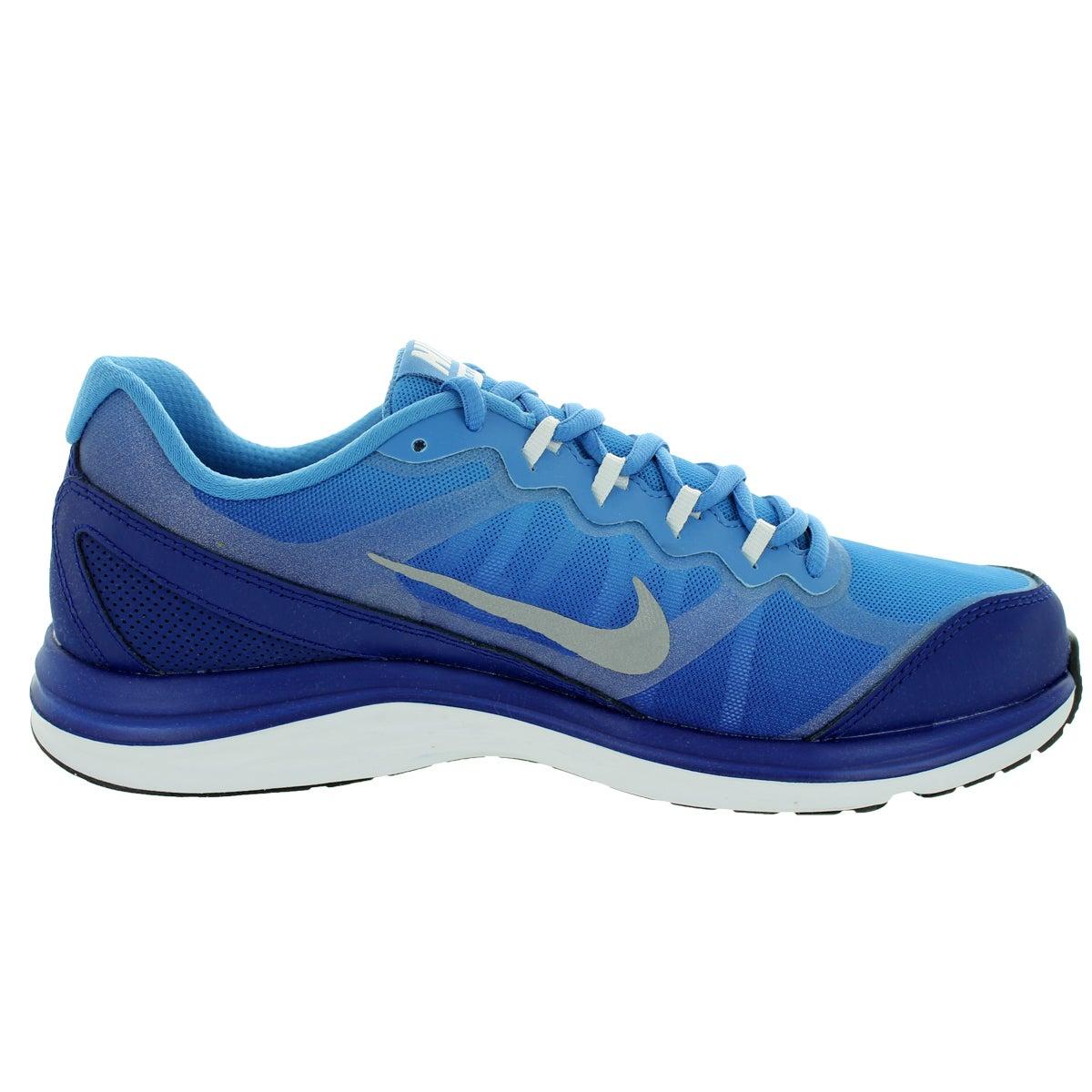 f0dbd12f65b3be Shop Nike Men s Dual Fusion Run 3 Premium Royal Blue Rflct Slvr Hrzn Ml Running  Shoe - Free Shipping Today - Overstock.com - 12328697