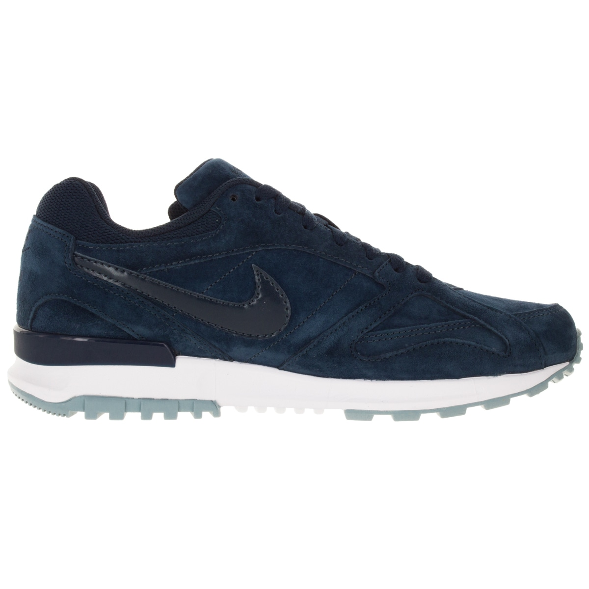 79f583427a07 Shop Nike Men s Air Pegasus New Racer Prm Obsidian Obsidian White Bl Running  Shoe - Free Shipping Today - Overstock - 12328719