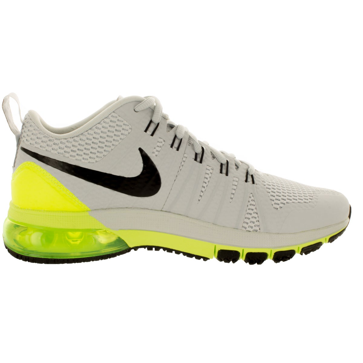 cheaper 599f0 d77eb ... usa shop nike mens air max tr180 pure platinum black volt training shoe  free shipping today