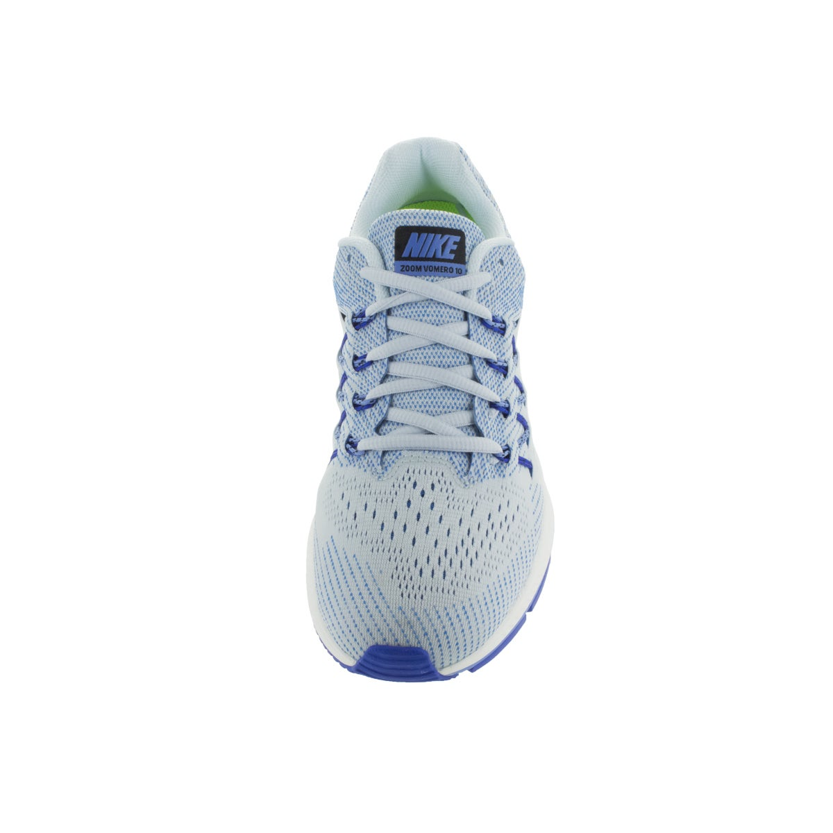 0aa578730c86 Shop Nike Women s Air Zoom Vomero 10 Blue Tint Black Chalk Blue Running  Shoe - Free Shipping Today - Overstock - 12328803