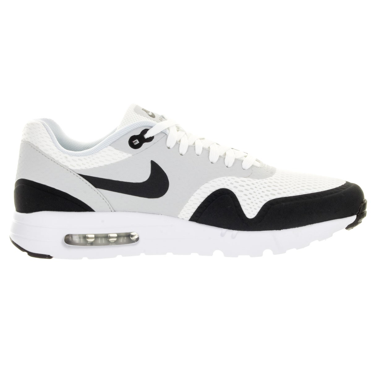 quality design dfe89 54c7e Shop Nike Men s Air Max 1 Ultra Essential White Anthracite Pure Platinum  Running Shoe - Free Shipping Today - Overstock - 12328852