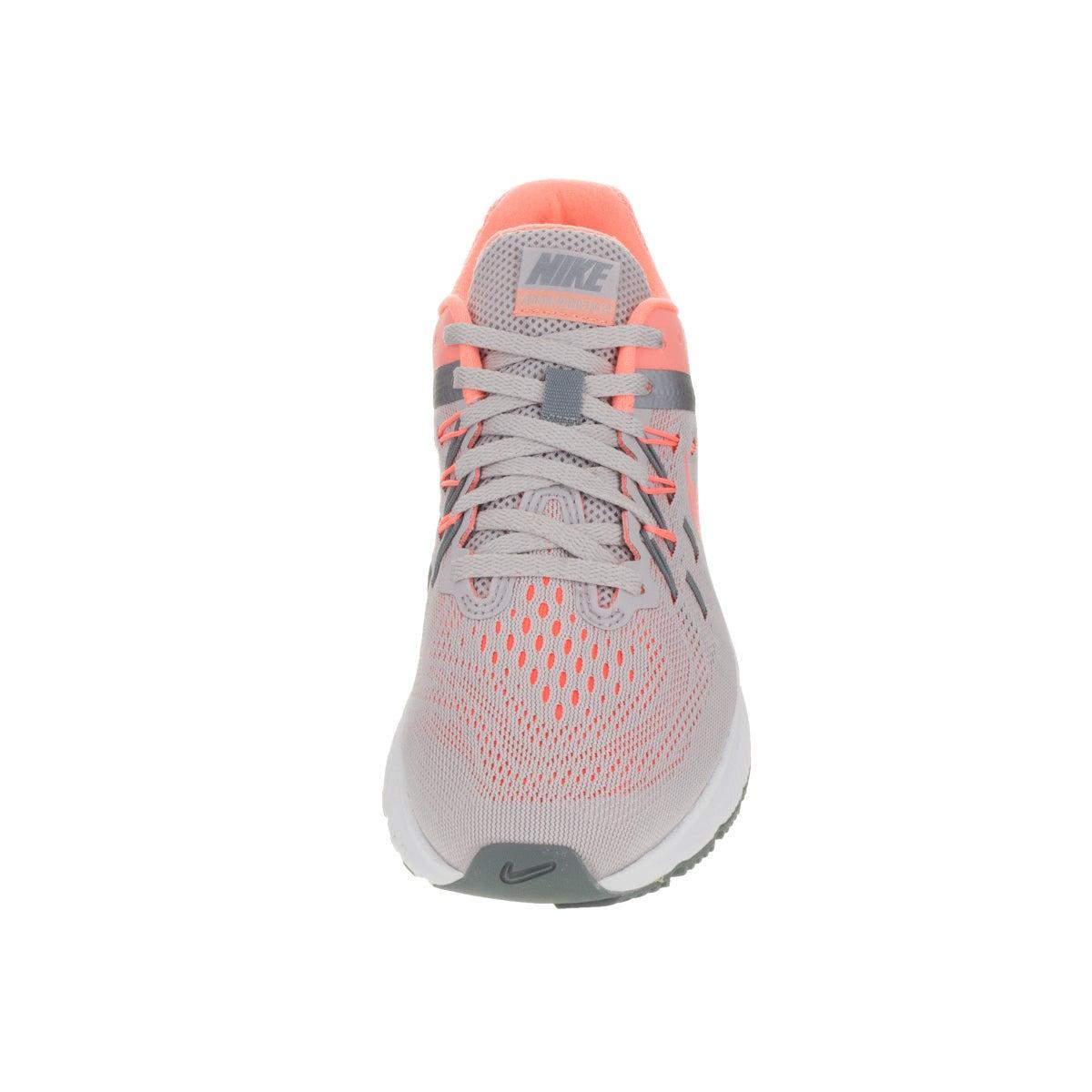 sale retailer 5ee2a 4c8e6 Shop Nike Women s Zoom Winflo 2 Vlt Ash Atmc Pink  Grey C Running Shoe -  Free Shipping Today - Overstock - 12328884