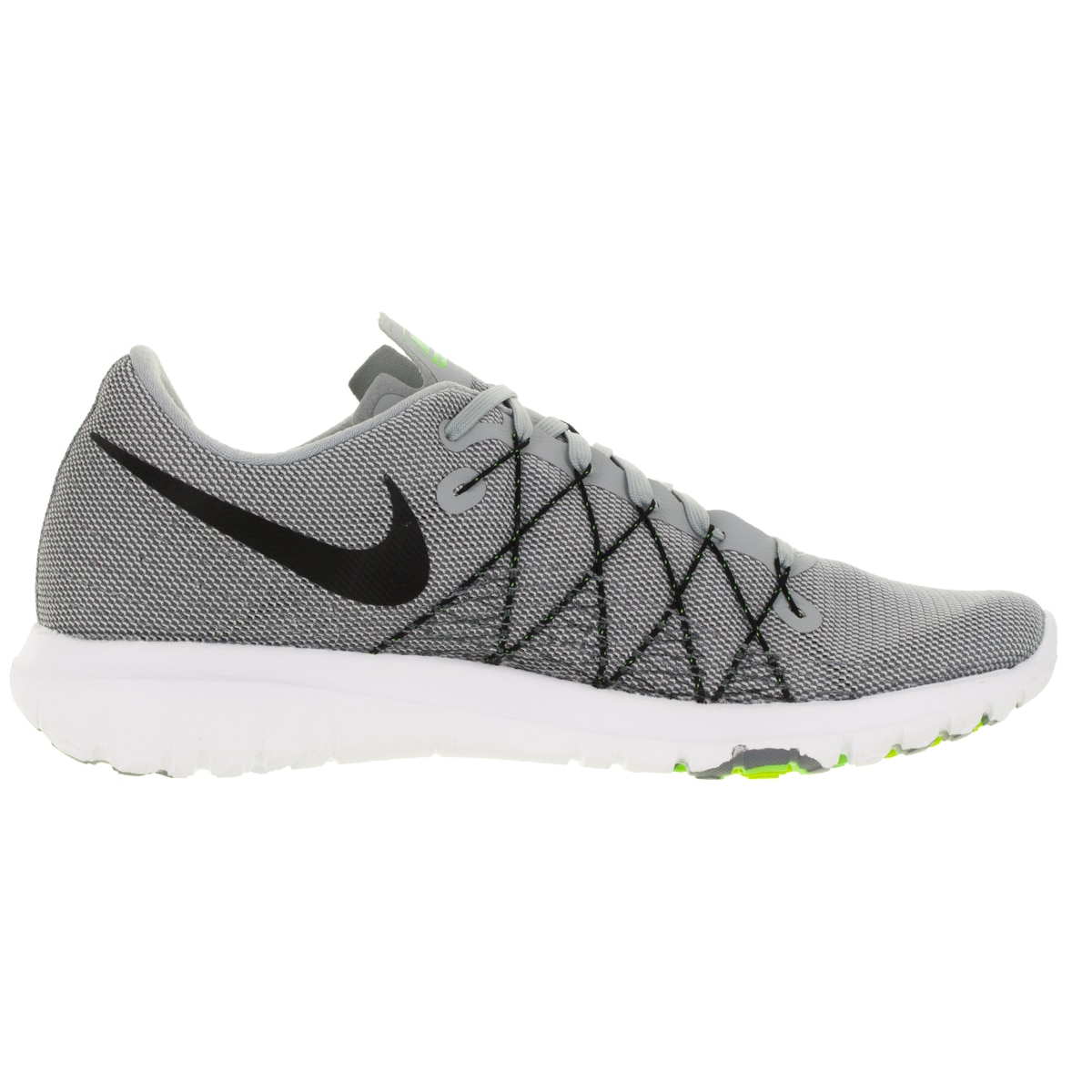231a69ee9427 Shop Nike Men s Flex Fury 2 Wolf Grey Black Dark Grey Grey Running Shoe -  Free Shipping Today - Overstock - 12329074