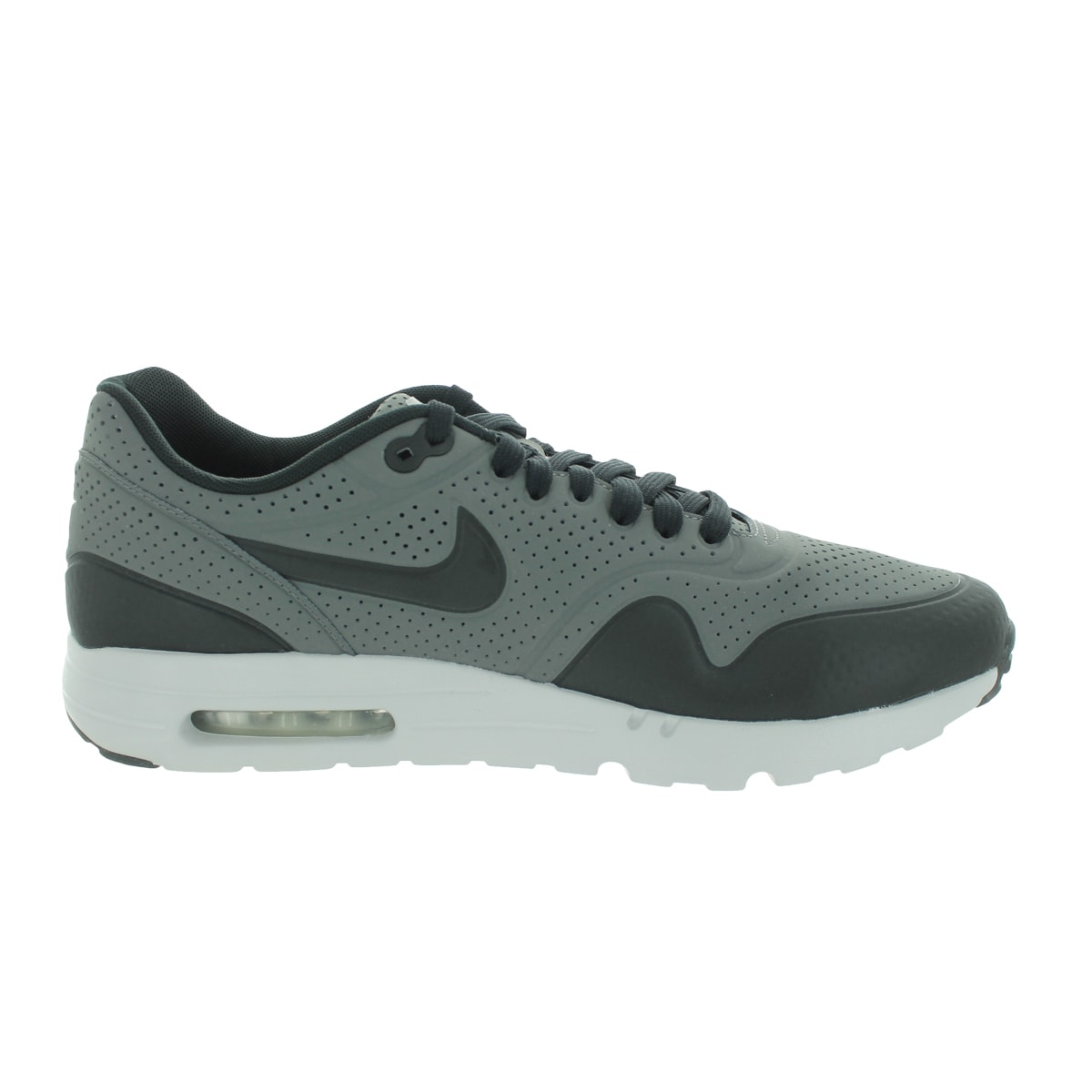 sports shoes e1606 093ec Shop Nike Men s Air Max 1 Ultra Moire Dark Grey Black Flt Silver Running  Shoe - Free Shipping Today - Overstock.com - 12329148