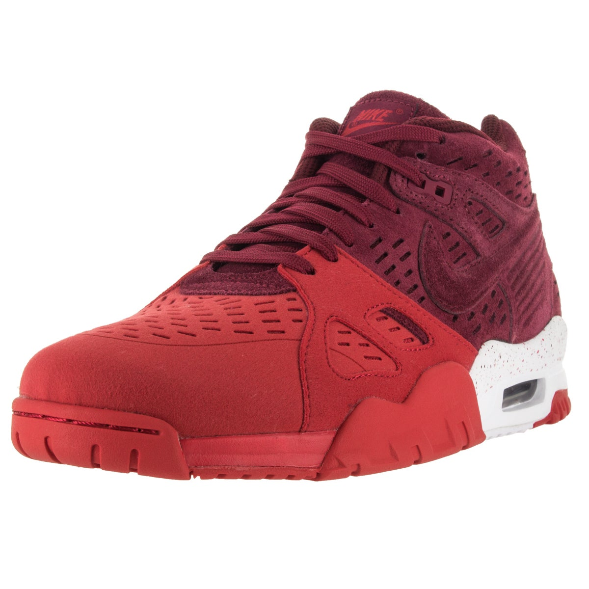Nike Men s Air Trainer 3 Le Team Red University Red White Training Shoe 9243eb79d