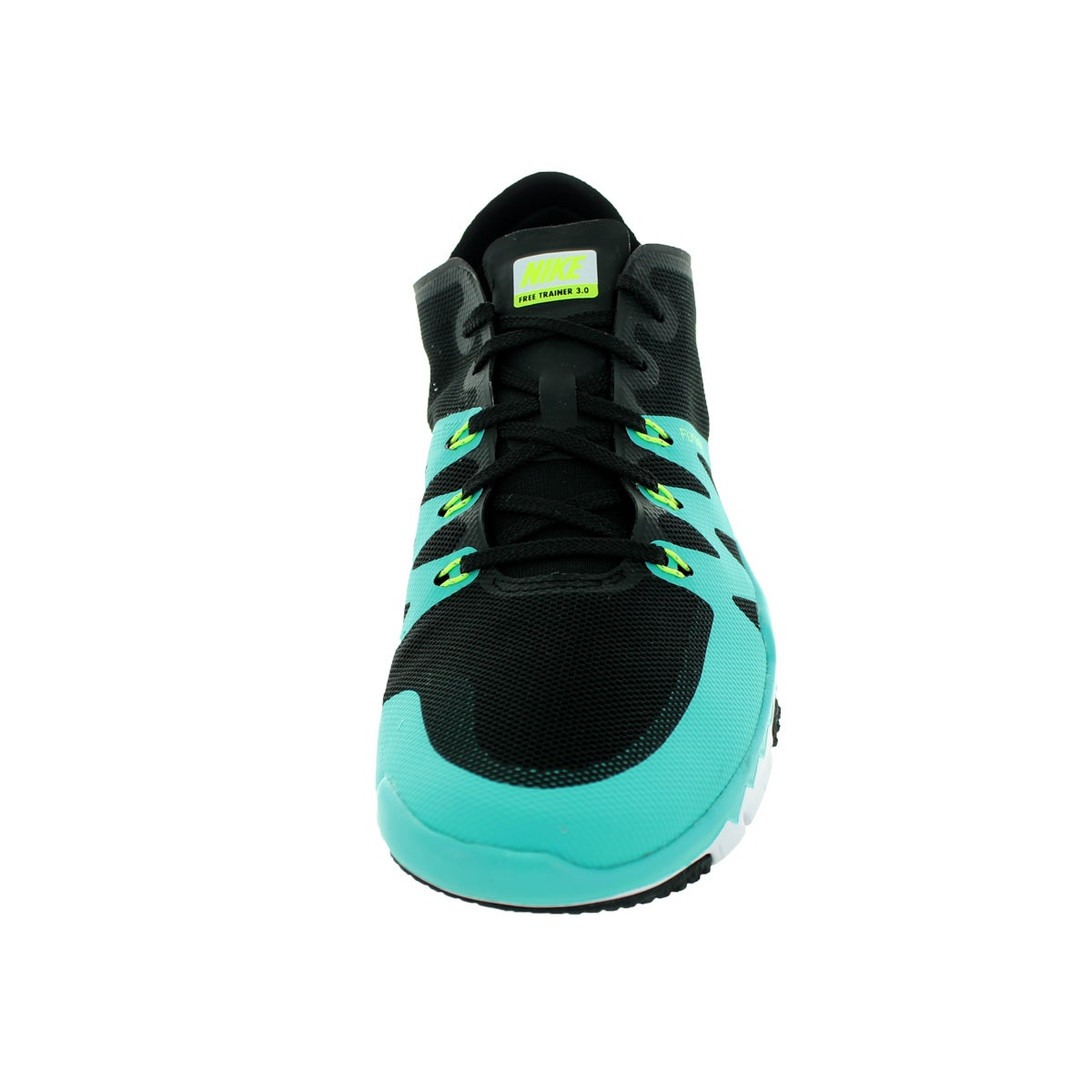 d0e4bec50fe7f Shop Nike Men s Free Trainer 3.0 V3 Black Volt Lt Retro White Training Shoe  - Free Shipping Today - Overstock.com - 12329199