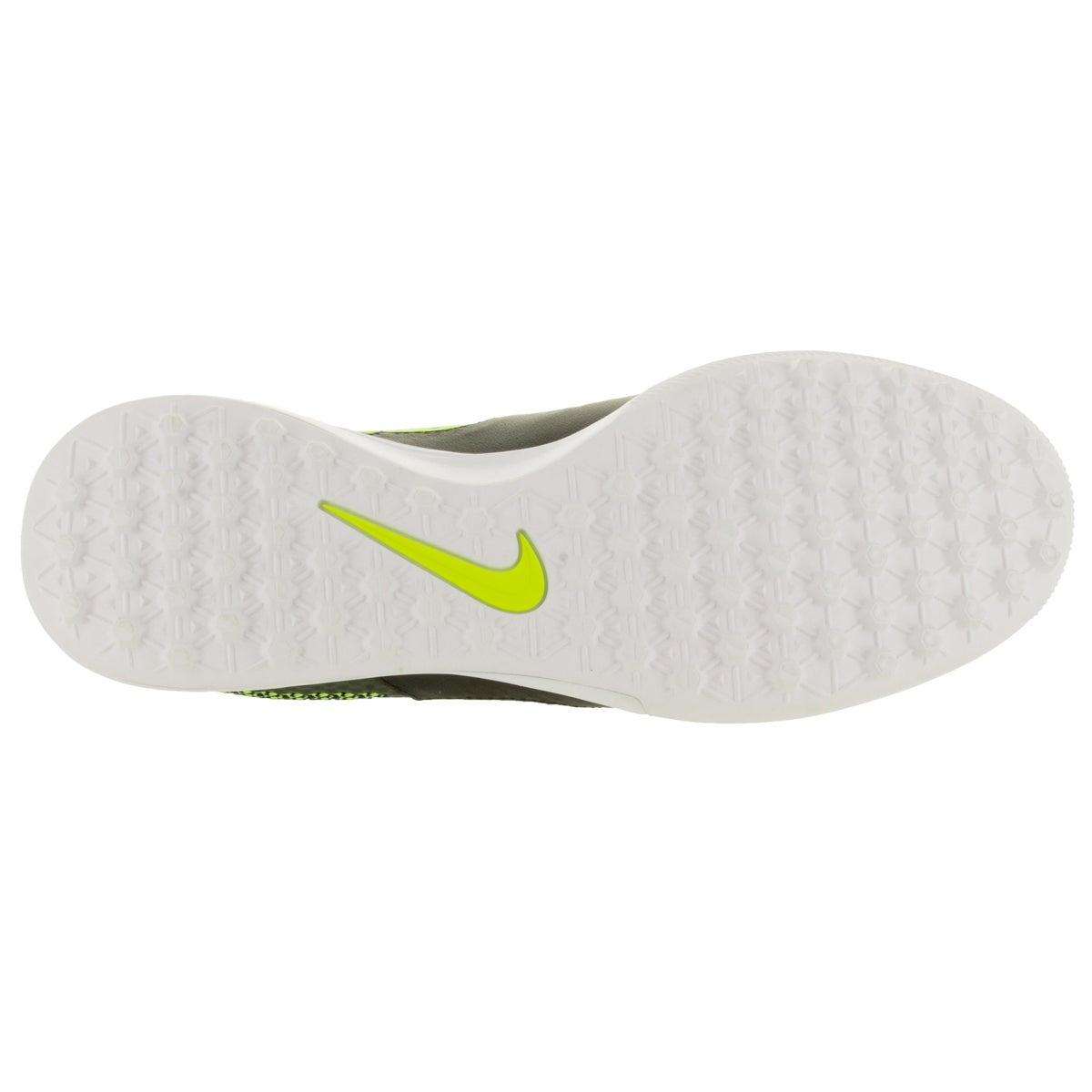 4742a5c40 Shop Nike Men s Magistax Finale Tf Black Black Volt White Turf Soccer Shoe  - Free Shipping Today - - 12329248