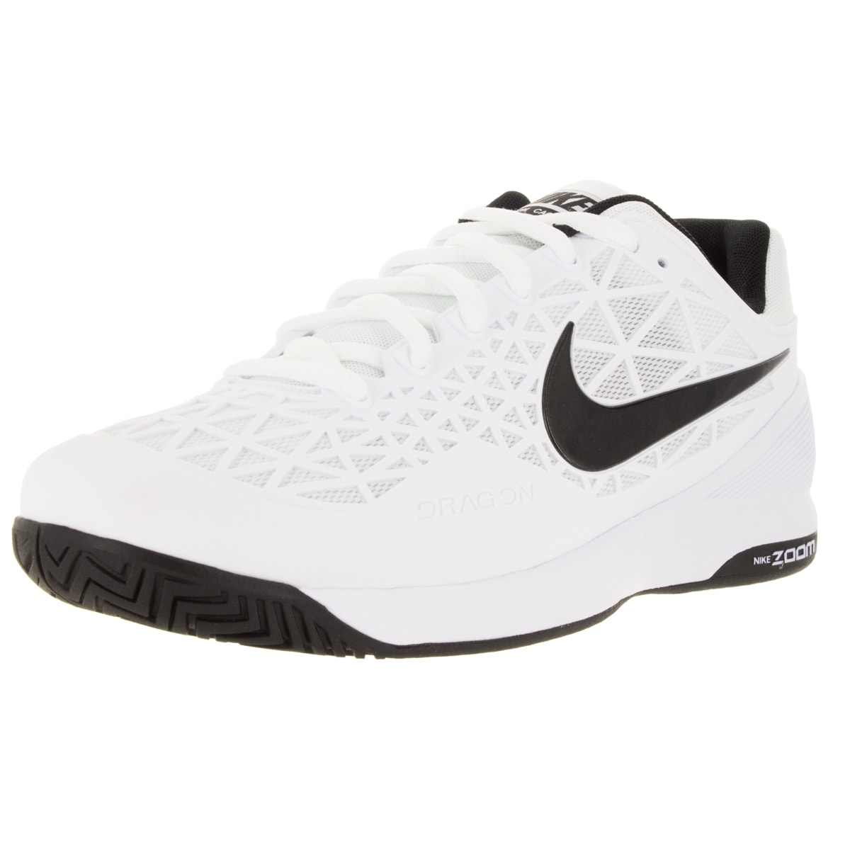 87daf74e5d9202 Shop Nike Men s Zoom Cage 2 White Black Cool Grey Tennis Shoe - Free  Shipping Today - Overstock.com - 12329256