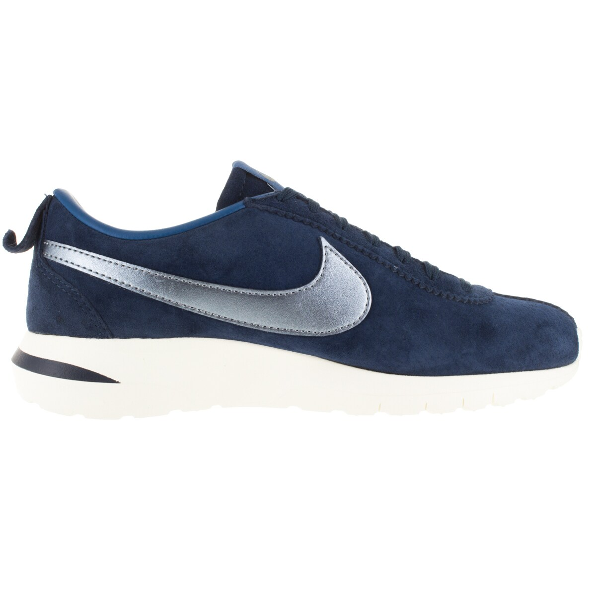 b88a6eb7c289d Shop Nike Women s Roshe Cortez Nm Prm Suede Mid Navy  Bl Dsk  Bl Sl Running  Shoe - Free Shipping Today - Overstock - 12329274