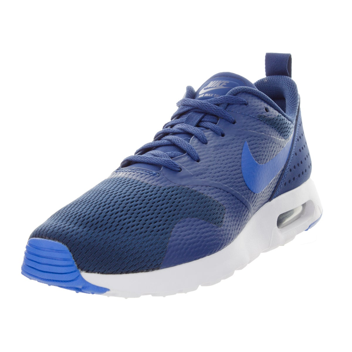 low priced 00a8a ea6db Shop Nike Men s Air Max Tavas Cs Blue Bl Sprk White  Running Shoe - Free  Shipping Today - Overstock - 12329281