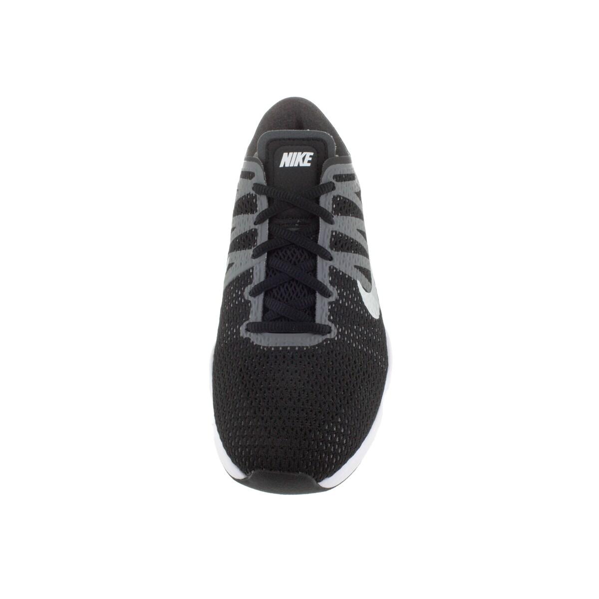 ff8c56be8b4b Shop Nike Women s Air Zoom Fit 2 Black White Dark Grey Grey Training Shoe -  Free Shipping Today - Overstock - 12329287