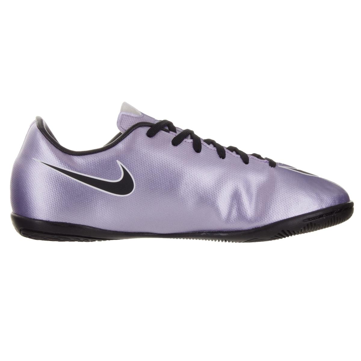 32b7e341687 Shop Nike Kids Jr Mercurial Victory V Ic Urban Lilac Black Brightt Magenta  White Indoor Soccer Shoe - Free Shipping Today - - 12330583