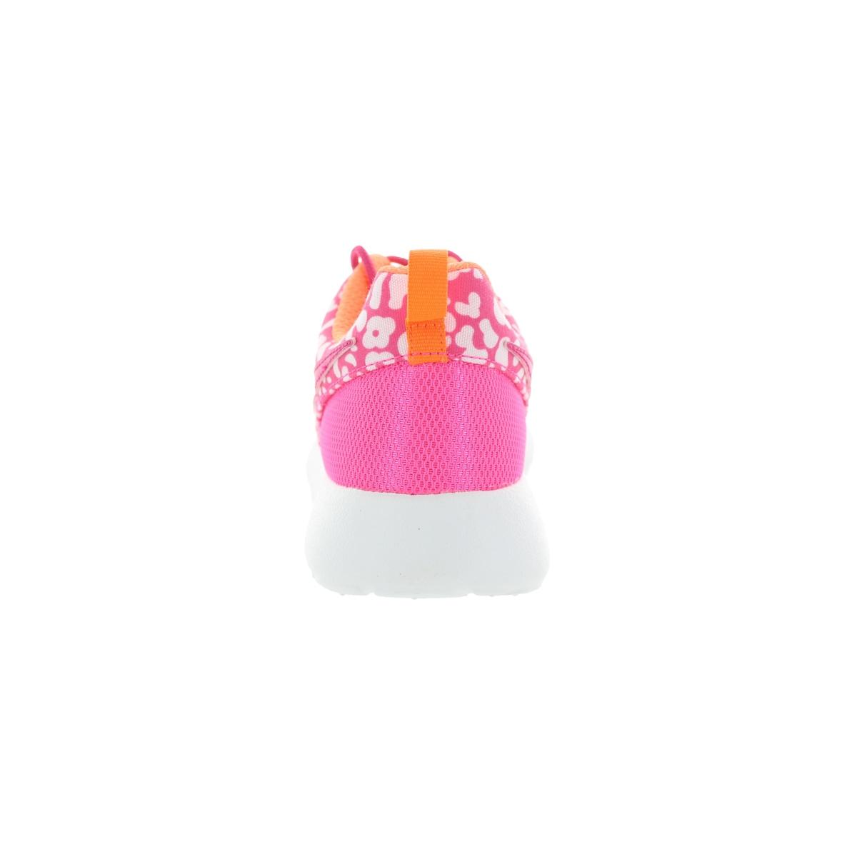 f6e6c0e9e163 Shop Nike Kids Roshe One Print (Gs) Pink Pow Vvd Pink Orange White Running  Shoe - Free Shipping Today - Overstock - 12330601