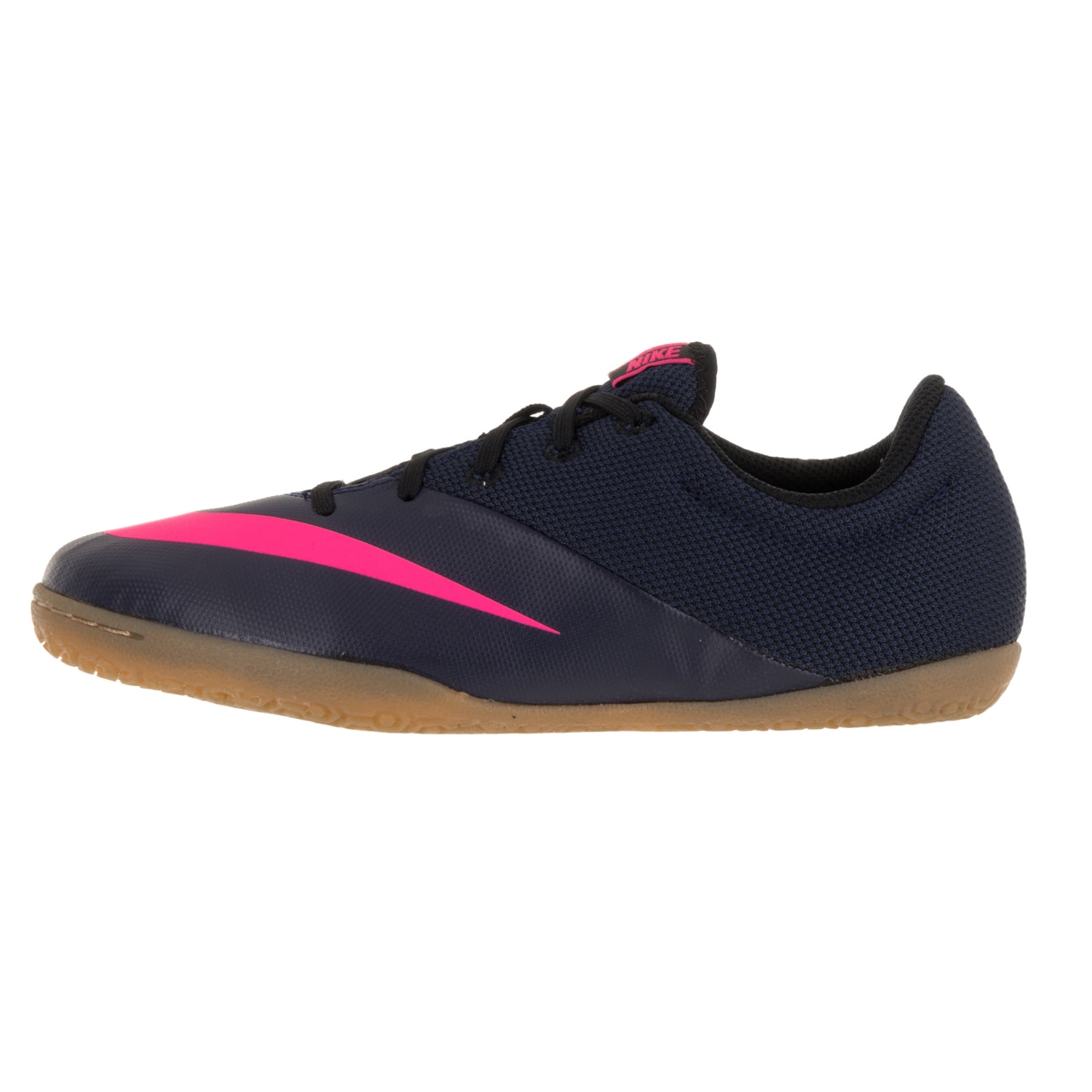 7a4b10584 Shop Nike Kids Jr Mercurialx Pro Ic Mid Navy Mid Navy Pink Blst Rcr B Indoor  Soccer Shoe - Free Shipping Today - Overstock - 12330618
