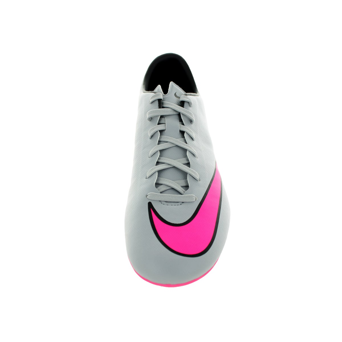 01963d6ae Shop Nike Men s Mercurial Victory V Fg Wolf Grey Hyper Pink Black Black Soccer  Cleat - Free Shipping Today - Overstock - 12330798