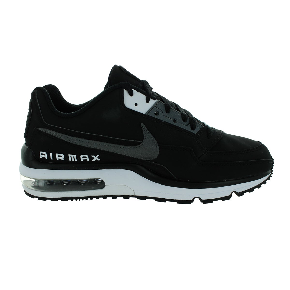 size 40 885f4 df9ce Shop Nike Men s Air Max Ltd 3 Black Dark Grey White Running Shoe - Free  Shipping Today - Overstock - 12330939